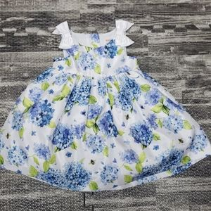 GYMBOREE FLOWERED SPECIAL OCCASION DRESS